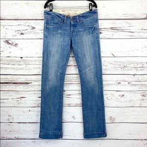 AG ADRIANO GOLDSCHMIED | Faded Long Bootcut Jeans